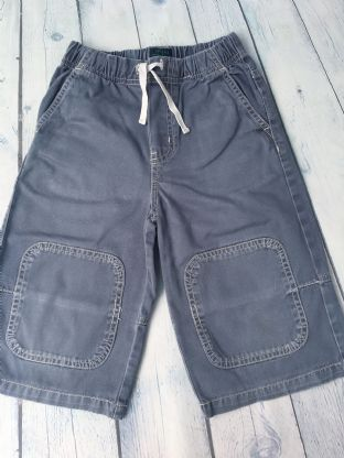 Mini Boden slate blue shorts age 5-6